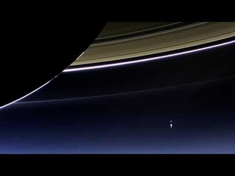Земля с Сатурна. Earth from Saturn