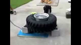 Inflatable tires in a smart way