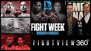*FIGHT WEEK BREAKDOWN* BRONER VS VARGAS - FRAMPTON VS DONAIRE - DAVIS VS CUELLAR - KHAN VS LO GRECO