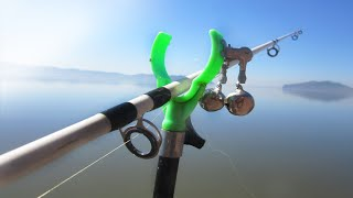 ВЗЯЛ ЕЁ НА РЫБАЛКУ И ЖАРИЛ ВСЮ НОЧЬ! Релакс рыбалка! Ловля с ночевкой и рыба на камнях