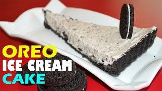 Easy Oreo Ice Cream Cake Tart - Homemade Oreo Ice cream Recipe