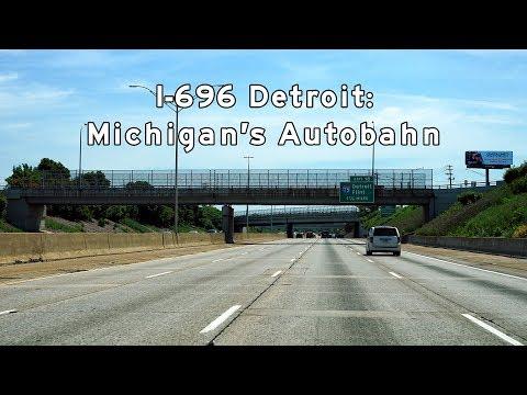 2017/06/10 - Interstate 696 Detroit [4K]