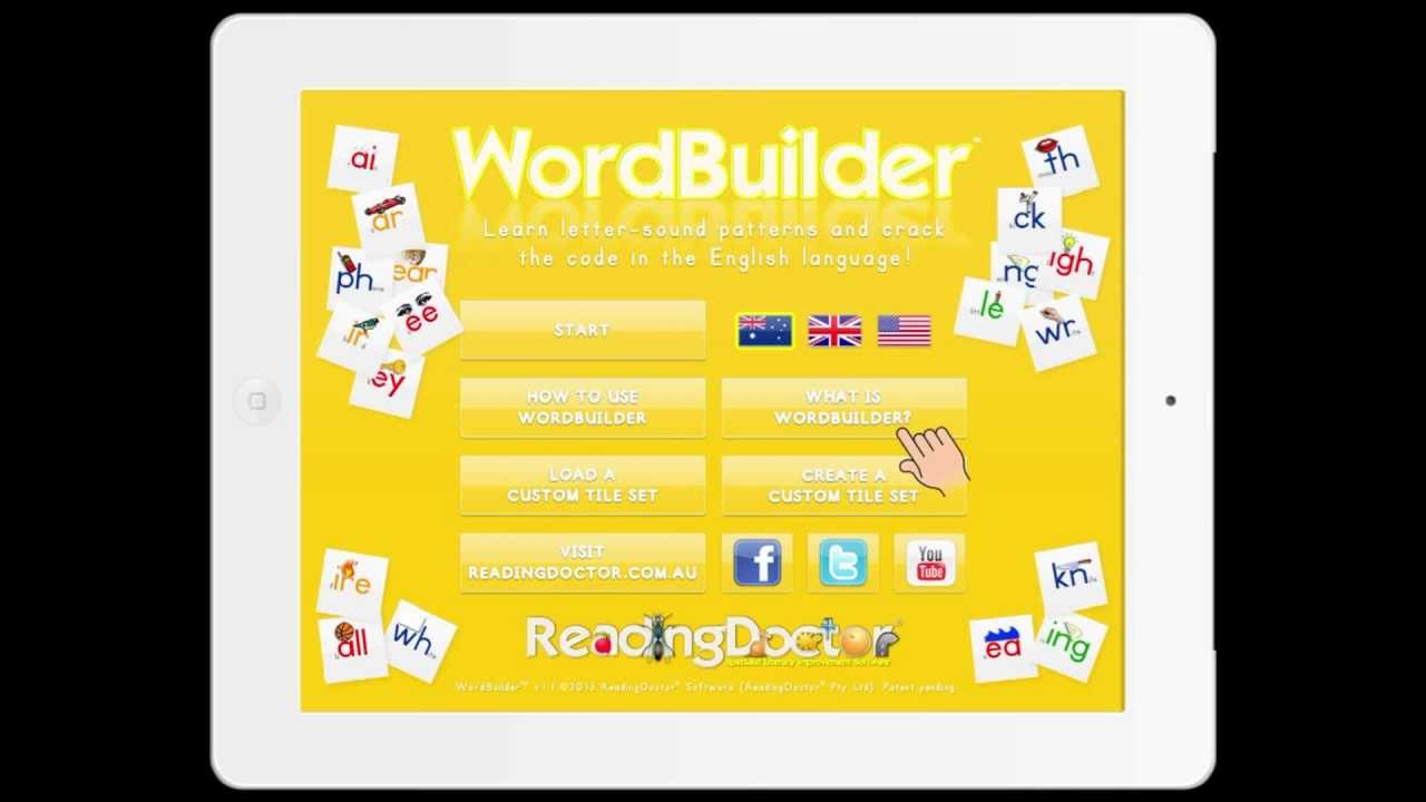 Wordbuilder For Ipad Learn Letter Sound Patterns For Reading And