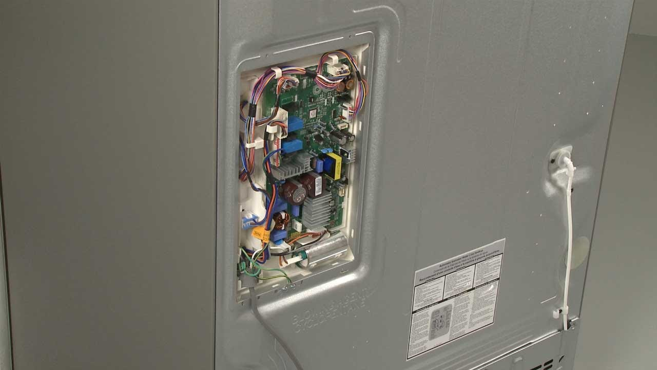 LG Refrigerator Main Control Board Replacement #EBR73304205 - YouTube