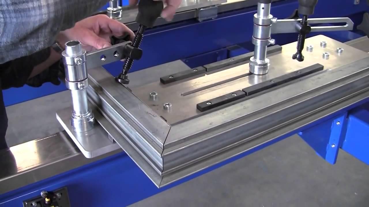 Frame Welding Fixture Weld Jig Welding Table Youtube