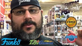 Funko Pop Hunting, Tate's, T'z Toys & Games, and Unkle Figs
