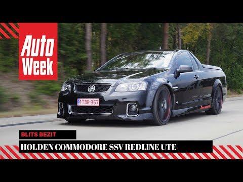 Holden Commodore SSV Redline Ute - Blits Bezit