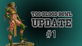 Blood Bowl Update #1!: After The First Match