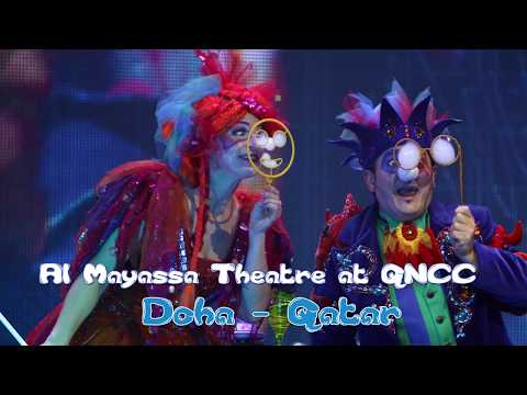 The Underwater Bubble Theatre - 15th February 2018 in QNCC Doha, Qatar
