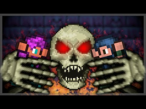 Terraria Master Mode done by absolute chads