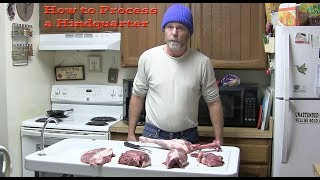 How to Process a Hindquarter