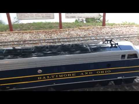 Tradewinds and Atlantic Railroad Part 4: T&ARR B&O F7A #815 Arriving 5-18-14