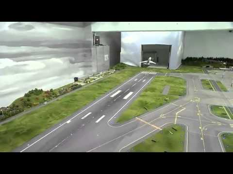 how to make a model airport runway