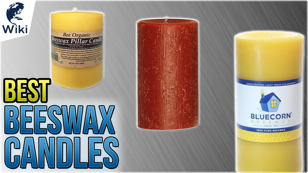 9 Best Beeswax Candles 2018 - YouTube