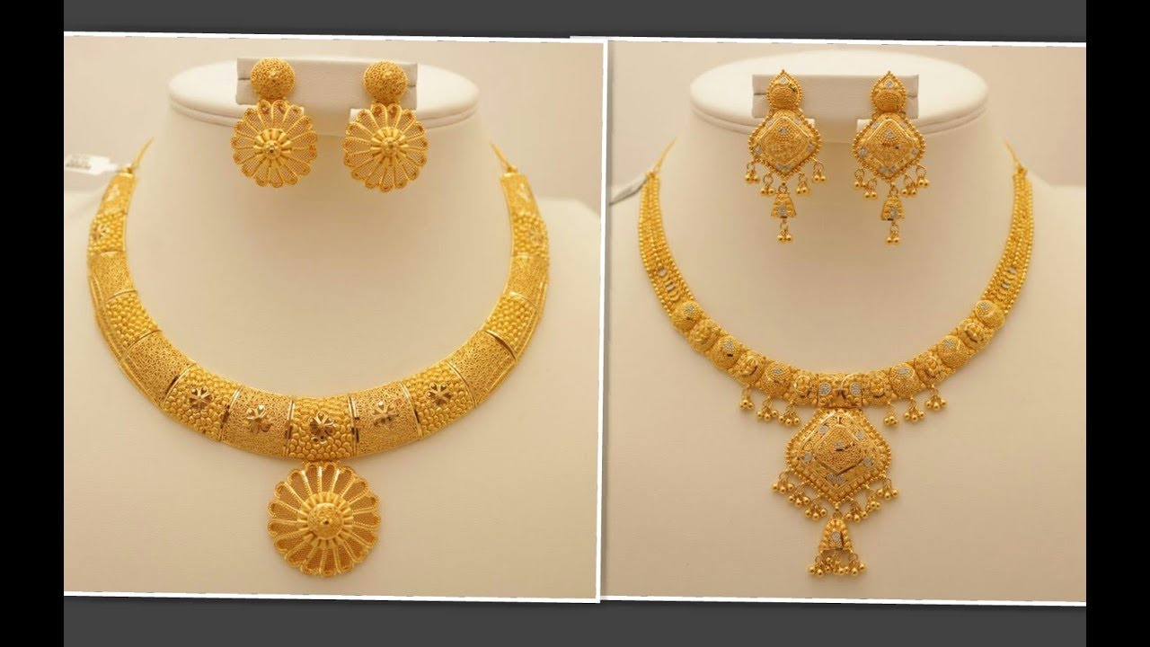 Latest Indian New Gold Jewellery Designs Collections 2018 Lifestyle Youtube