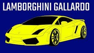Lamborghini Gallardo - Comparison in 10 Different Video Games