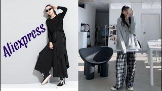 10 Кюлоты Женские широкие брюки с Алиэкспресс Женская одежда с Aliexpress Крутые вещи из Китая Топ