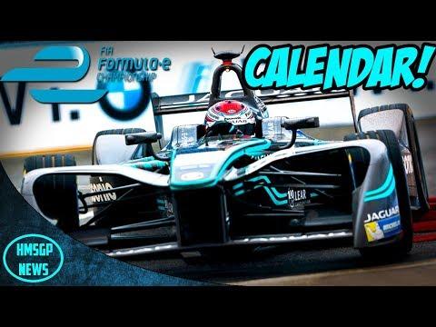 Formula E Season 4 Race Calendar! (Rome, Zurich & More!)