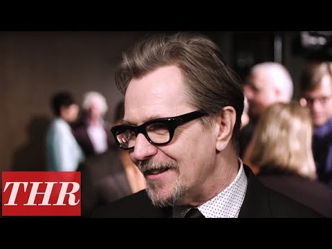 Gary Oldman Reveals The Origins of Dancing as Churchill to James Brown   THR Nominees Night