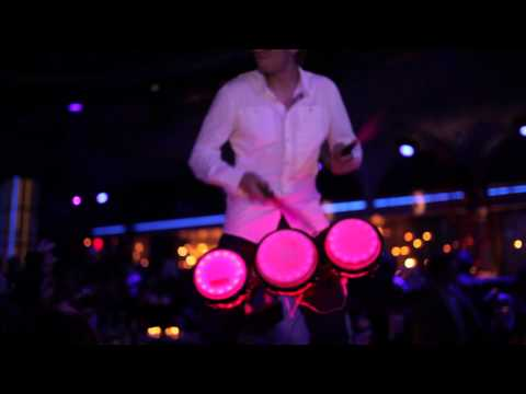 Walkabout LED Bongos (Interactive Entertainment)