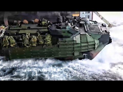 Ship Launch & Beach Landing • Amphibious Assault Vehicles