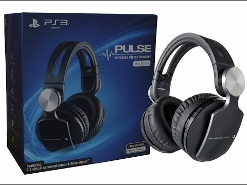 Sony Pulse Elite Wireless Headset REVIEW!
