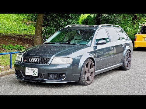 2003 Audi RS6 Avant Twin Turbo 4200cc (Canada Import) Japan Auction Purchase Review