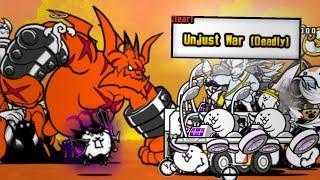 Battle Cats | Unjust War [Manic Dark] | NO GACHA, NO ITEMS