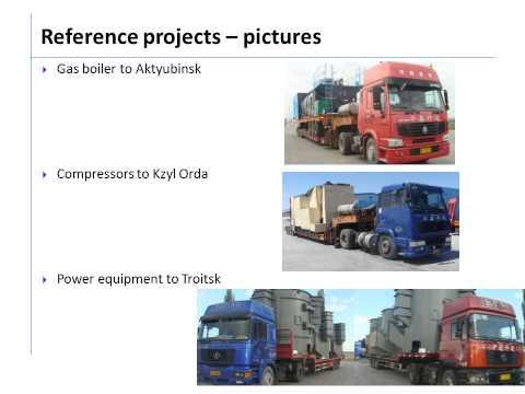 Logistics Plus China to Kazakhstan