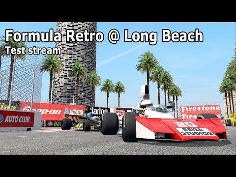 [Test stream] Formula Retro @ Long Beach