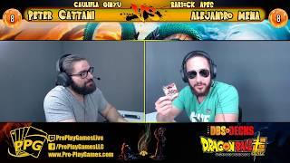 PPG Battle Series Caulifla Ginyu Peter vs Draft Box Bardock Alejandro