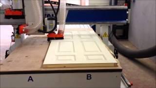 AS METAL, CNC Kapı İşleme Merkezi (Kapı Kanatı İşleme).wmv