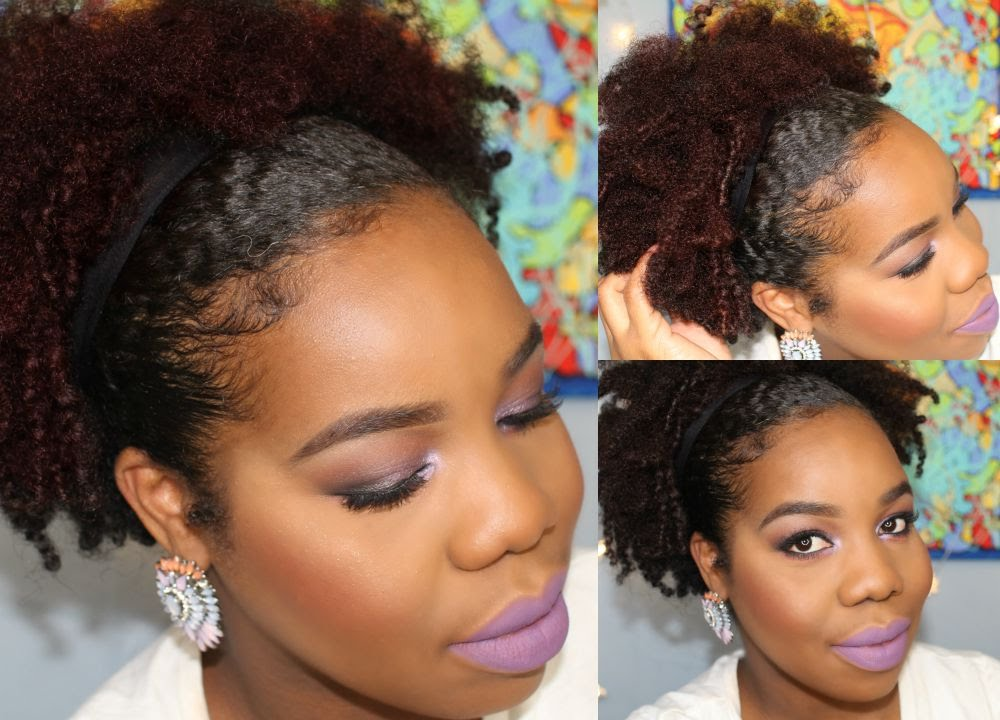 M Style Hair Hawthorn: Natural Hair: 🙆 Quick Everyday Hairstyle-lovelyanneka