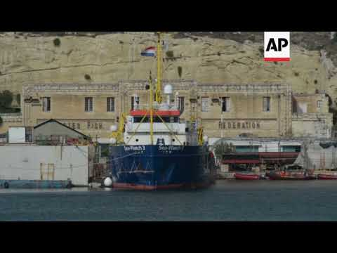 Maltese authorities are detaining Sea-Watch 3 rescue ship