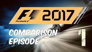 F1 2017 Game Comparison - Classic Cars - Episode 1