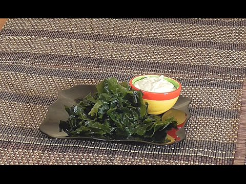 Водоросли Вакаме  . Сыроедческий салат  Белковый Бум.