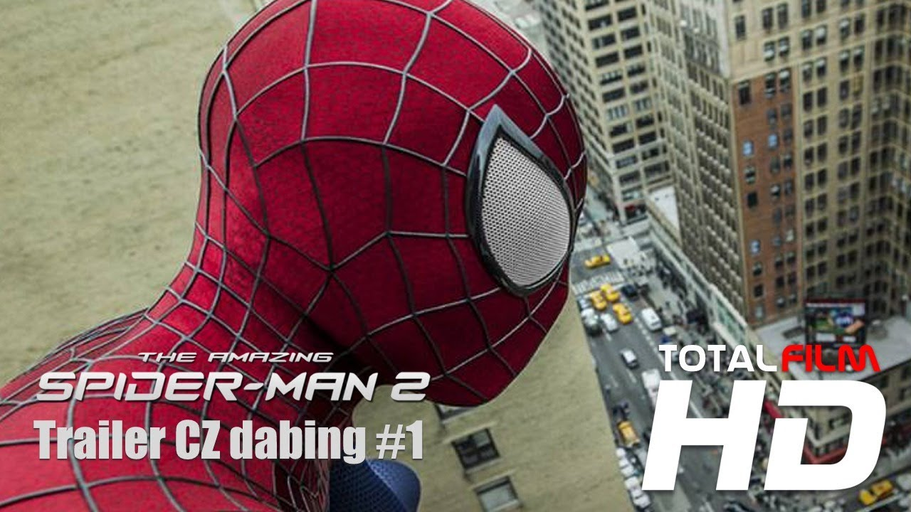 The Amazing Spider Man 2 2014 Cz Hd Trailer Dabing Youtube
