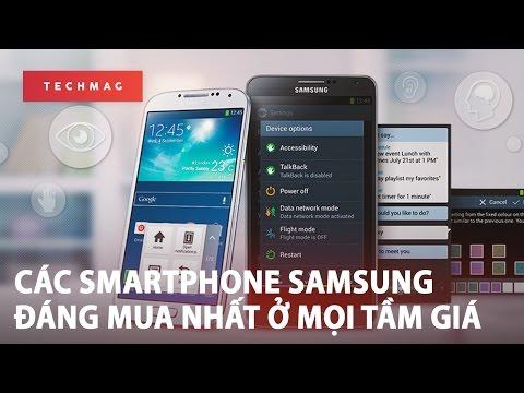 Các Smartphone Samsung đáng Mua Nhất ở Mọi Tầm Giá!