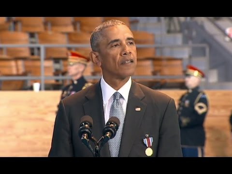 Obama Armed Forces Farewell Ceremony