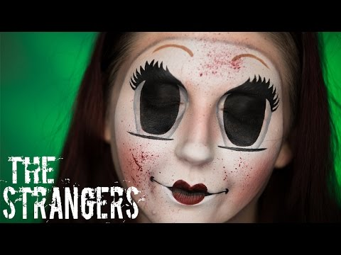 'The Strangers' Dollface Mask [Creepy Doll Halloween Makeup Tutorial | 31 Rays of Halloween]