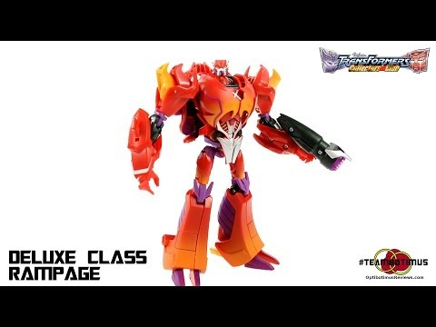 Video Review of the Transformers Collectors Club: Deluxe Class Rampage