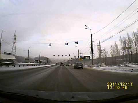 Видеорегистратор Subini DVR-227 - пример дневной съёмки