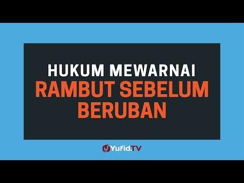 Hukum Mewarnai Rambut Sebelum Beruban - Poster Dakwah Yufid TV