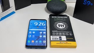Samsung Galaxy S9+ GPEL Tempered Glass Screen Protector Review