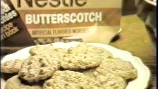 Nestles Butterscotch Morsels/oatmeal Scotchies Commercial - 1982