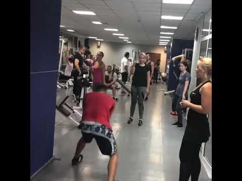 Тренировки по кроссфиту в Grand Sport