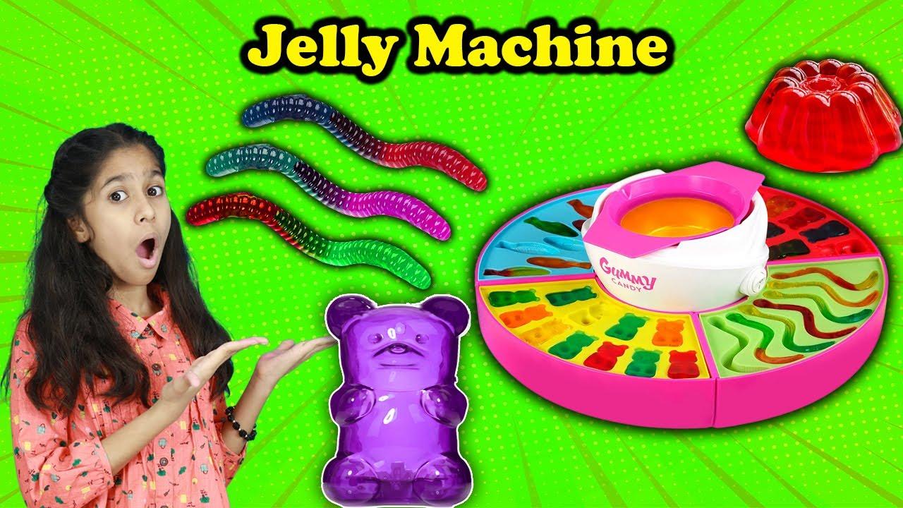 Pari Ki Jelly Making Machine | Awesome Jelly Made By Jelly Machine | Pari's Lifestyle
