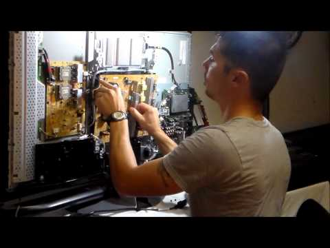 5 minute LCD TV REPAIR!!! Sony XBR TV with no power and flashing LED