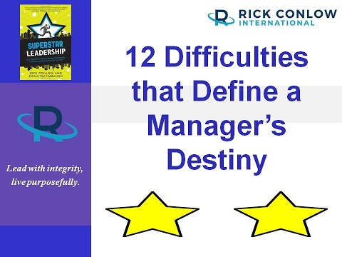 12 Difficulties That Define a Manager's Destiny