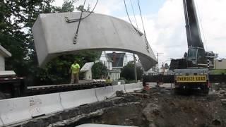 Unload, Upright Eco-span® Precast Arch